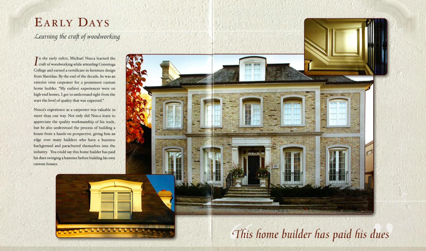 Nusca custom home magazine nusca custom homes for Homes magazines